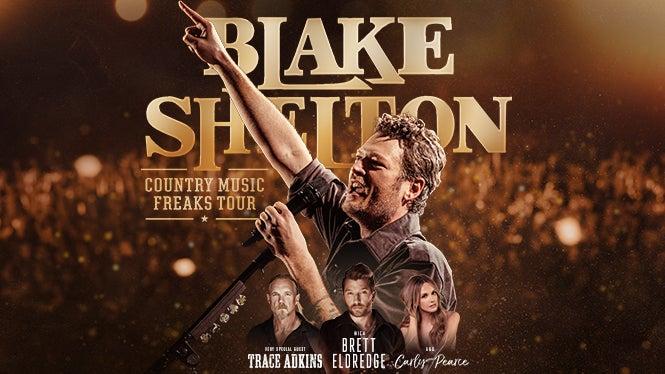 Blake Shelton  Tour Dates