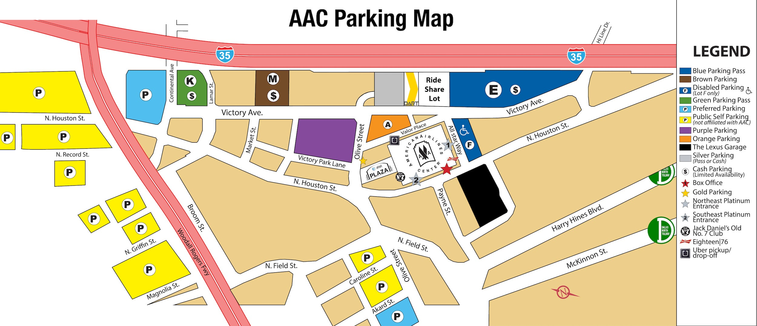 Parking | American Airlines Center