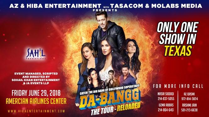 Salman Khan Da Bangg The Tour Reloaded American