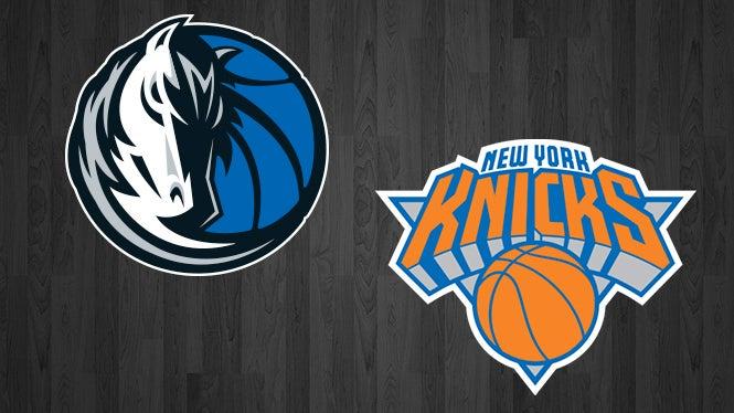 Mavericks Vs Knicks American Airlines Center