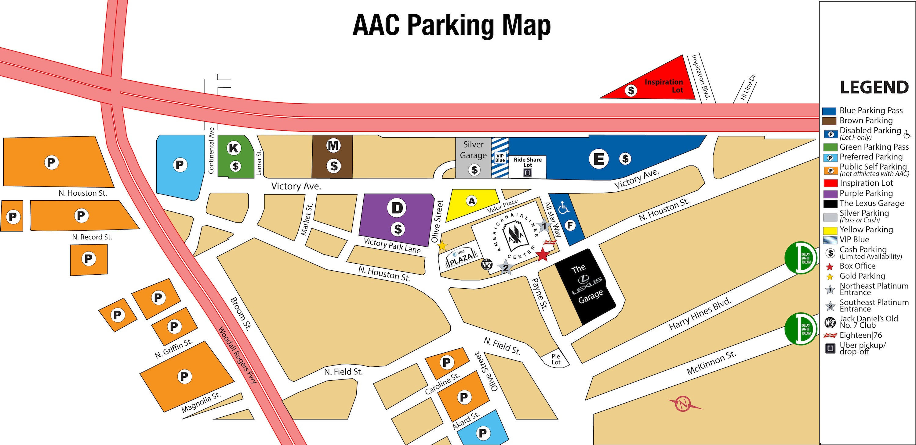 Quick Facts And Tips For The US Open StarStruck Ticket Blog - Us open tennis parking map
