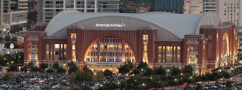Znalezione obrazy dla zapytania American Airlines Center