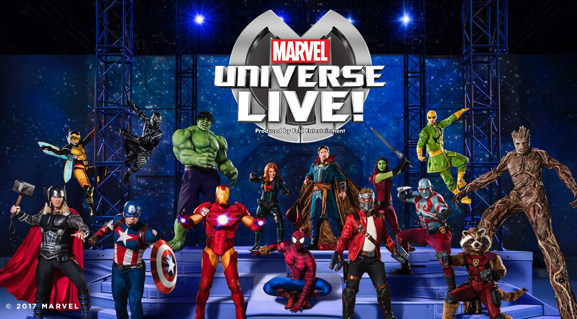 Marvel Universe Live Age Of Heroes American Airlines Center